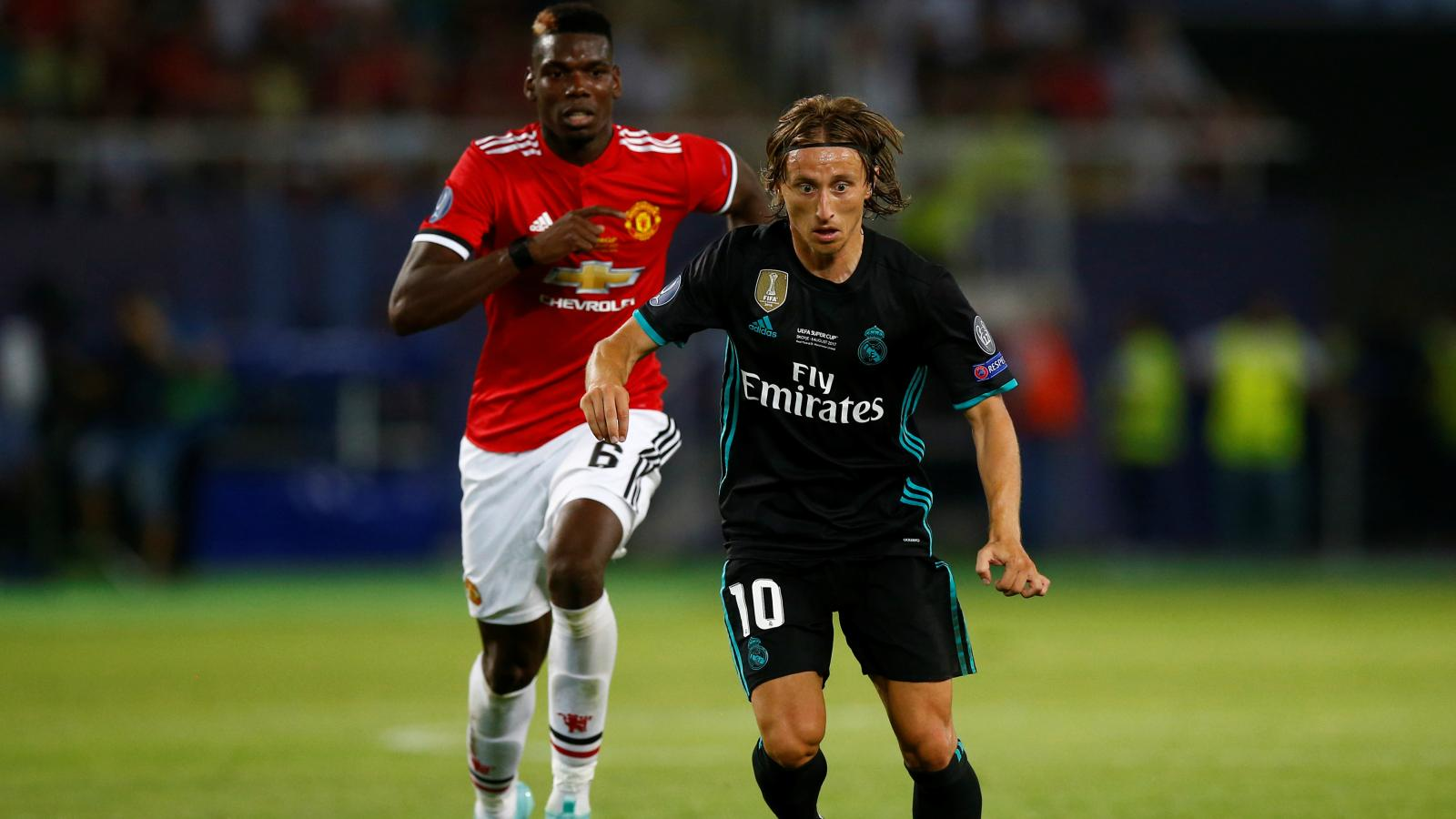 new arrival 66547 c11b5 World Cup 2018: Paul Pogba and Luka Modric's wonderful clash ...