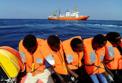 African migrant's journey to Europe through Sahara and