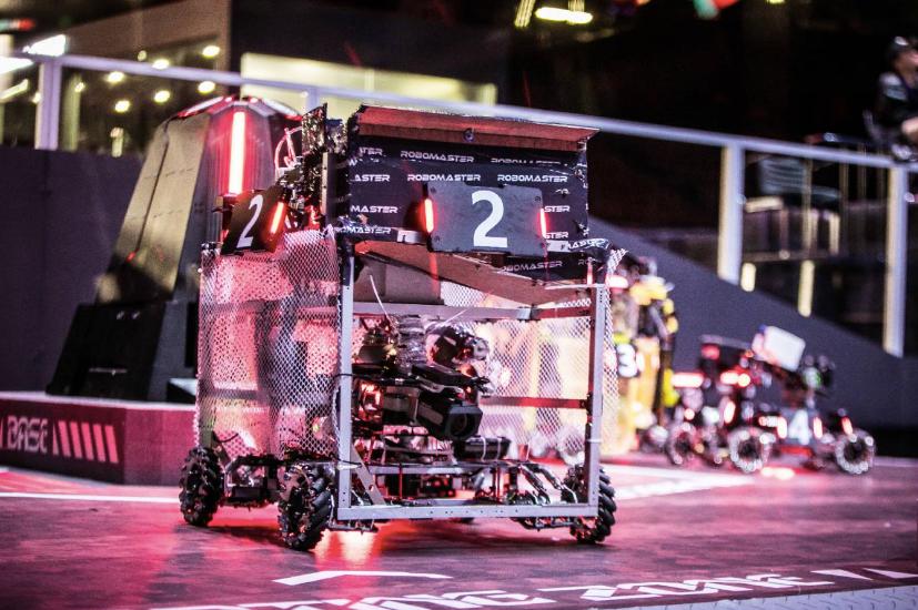Robomasters cage robot