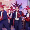 A crawfish skit on Saturday Night Live China.