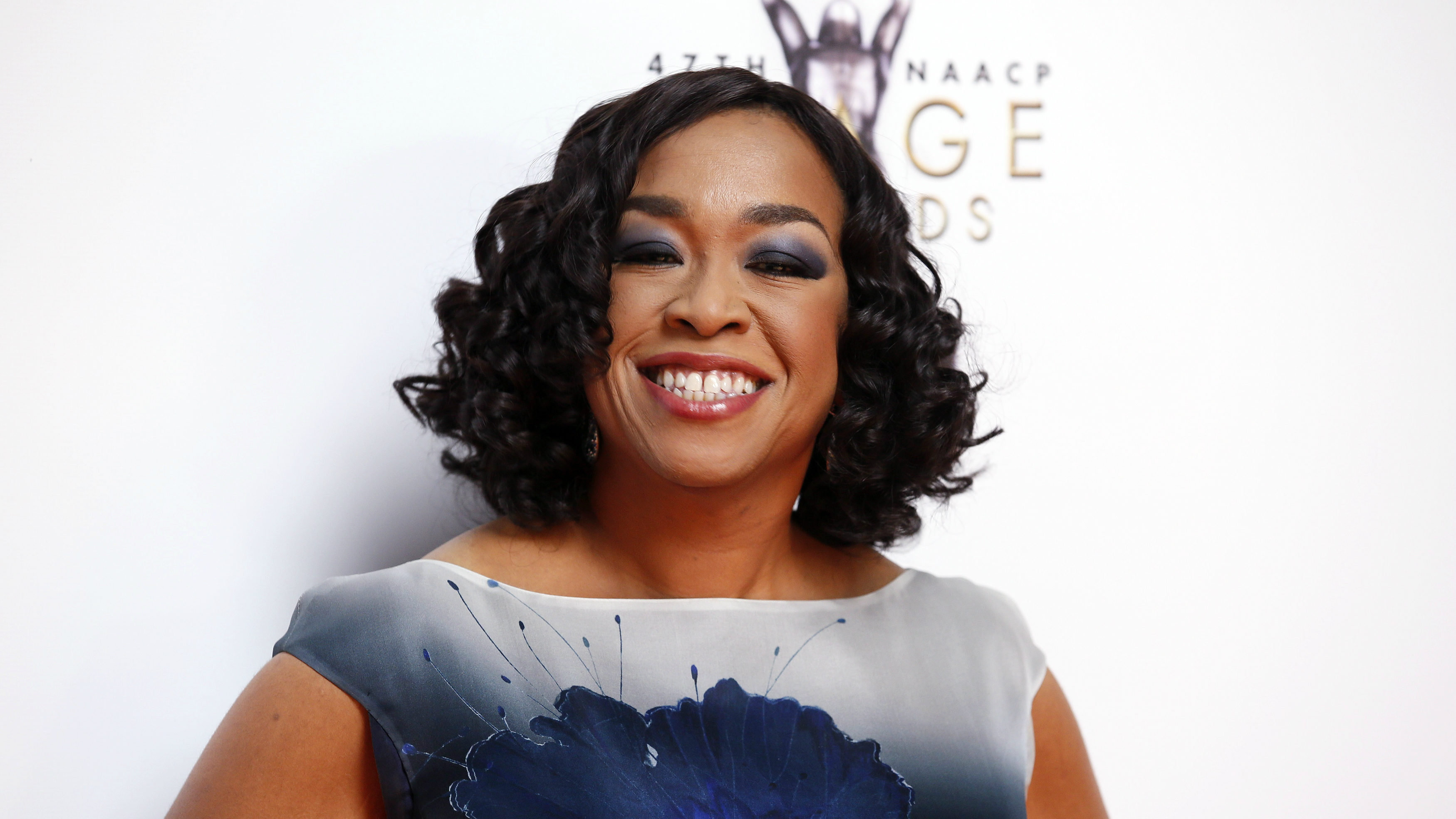 Shonda Rhimes at the NAACP awards.