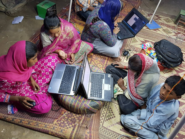 Bridging the digital literacy gap for girls.