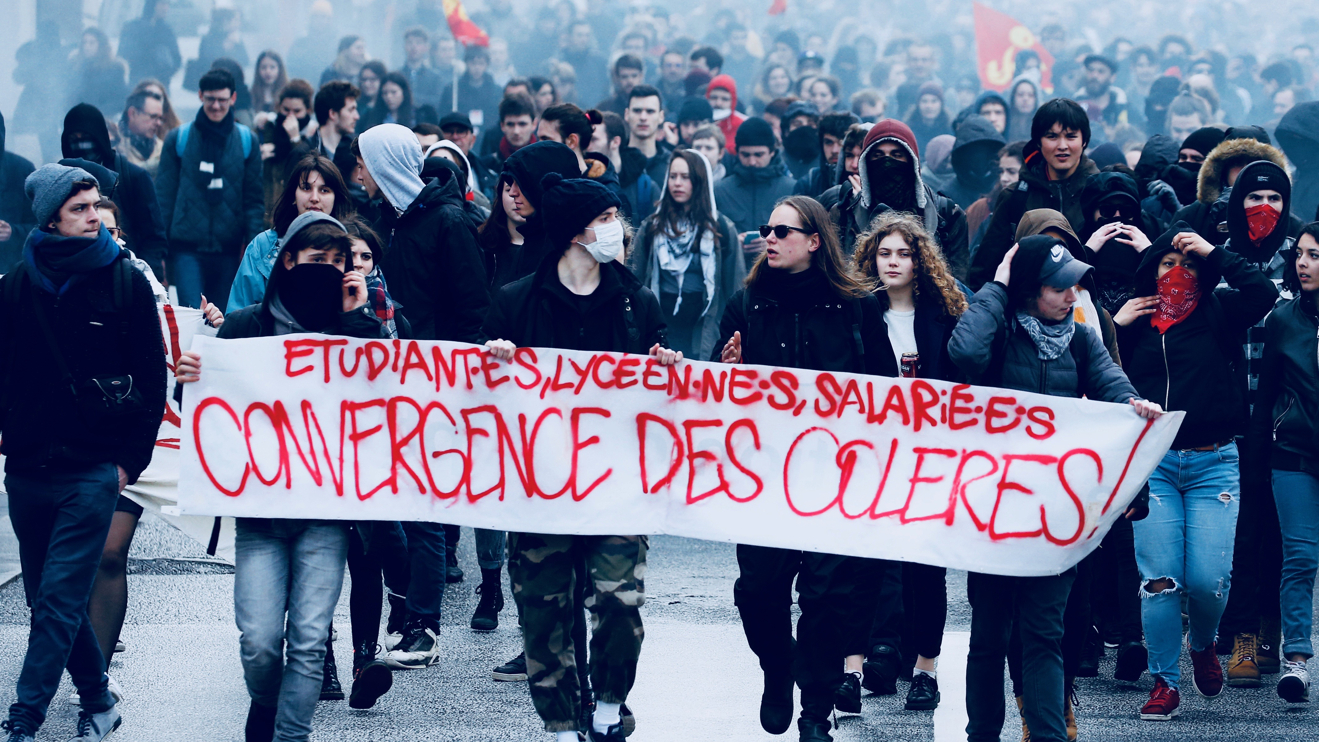 Protest in France.