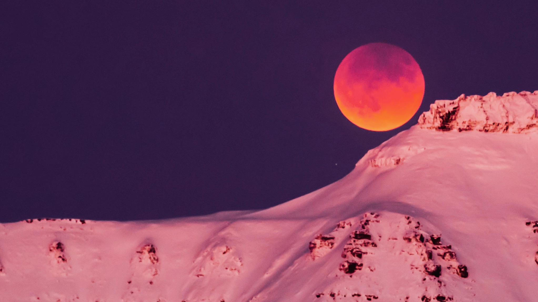 The blood moon matters most to those who look up every night.