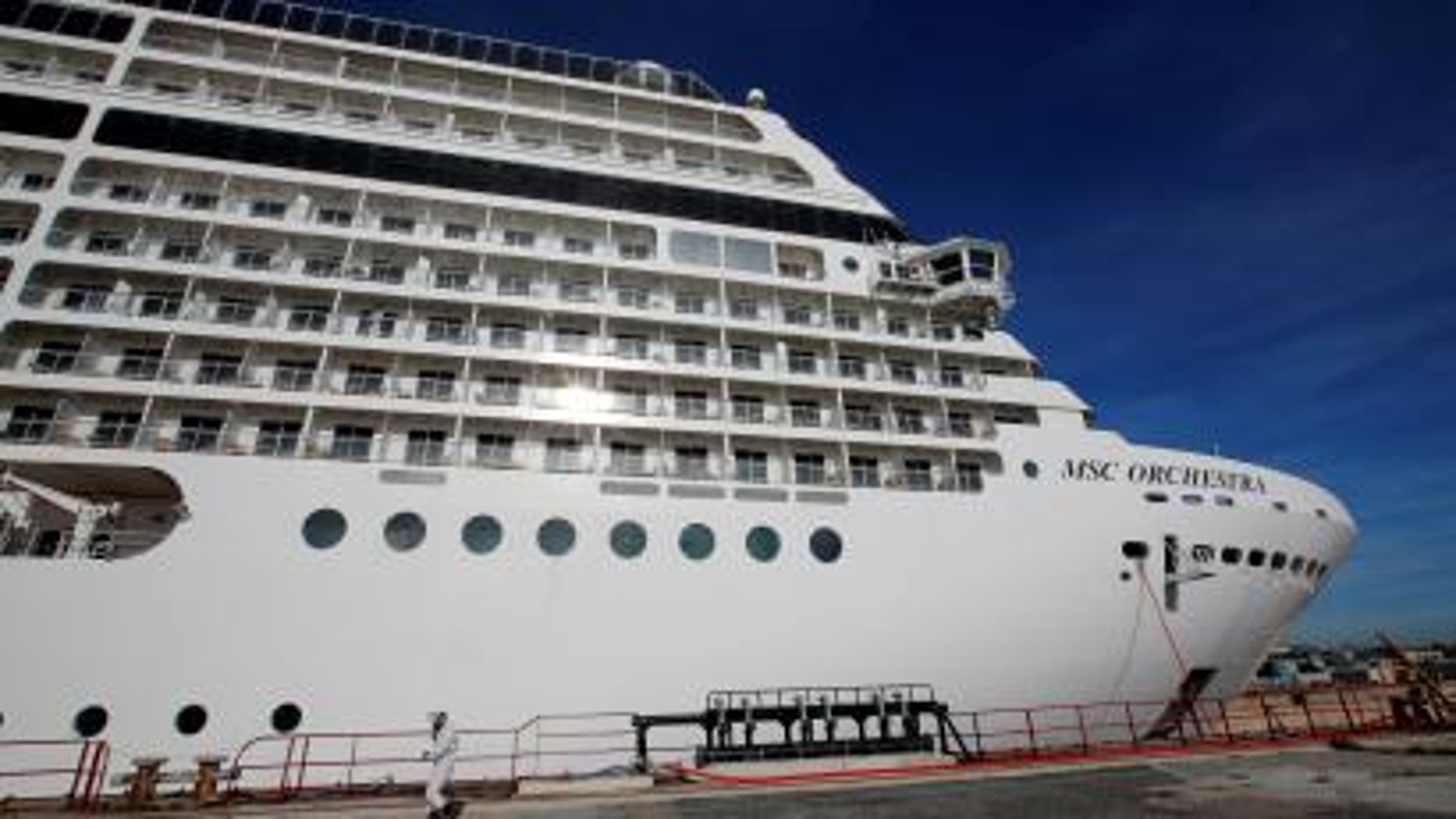 cruise ship maintenance