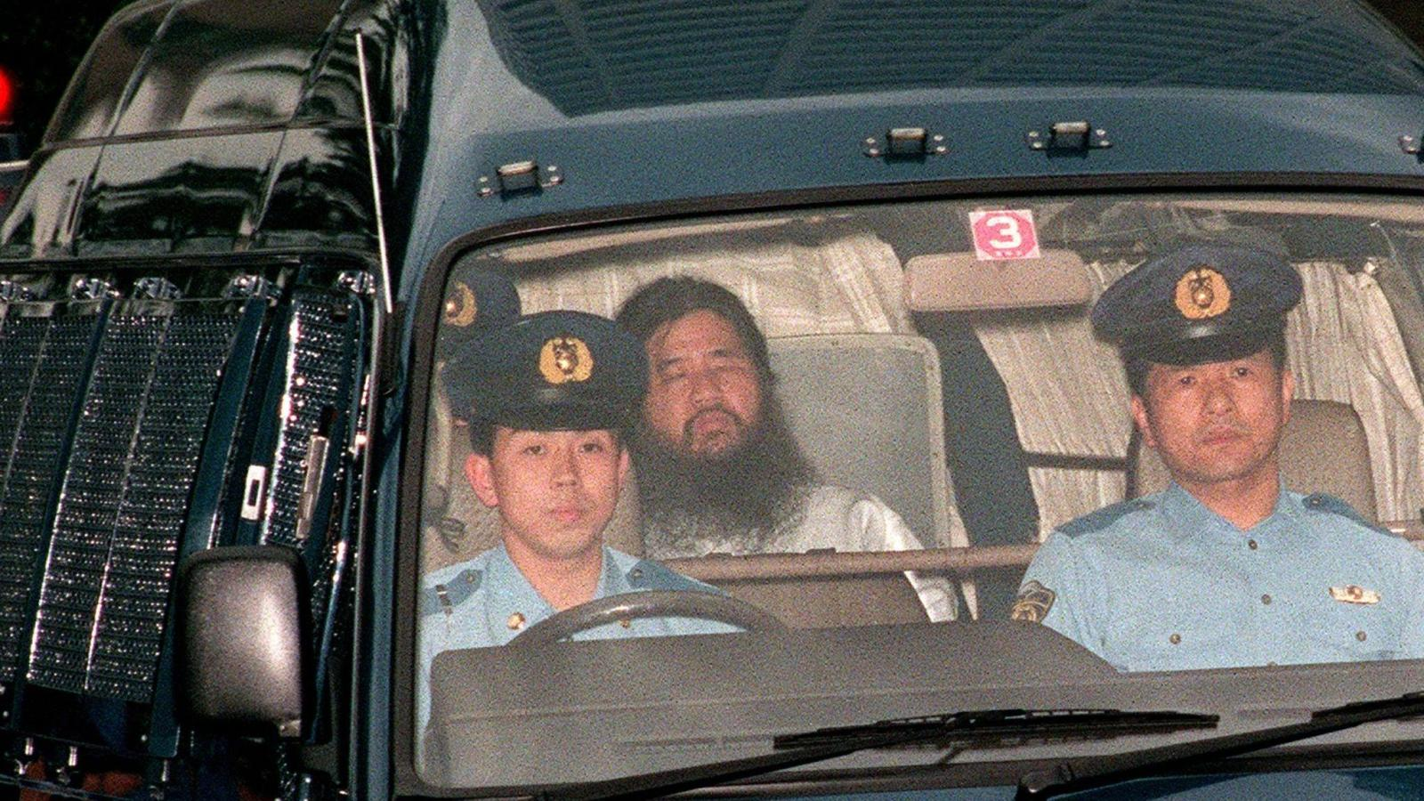 Japan executed Aum Shinrikyo cult members for Tokyo subway