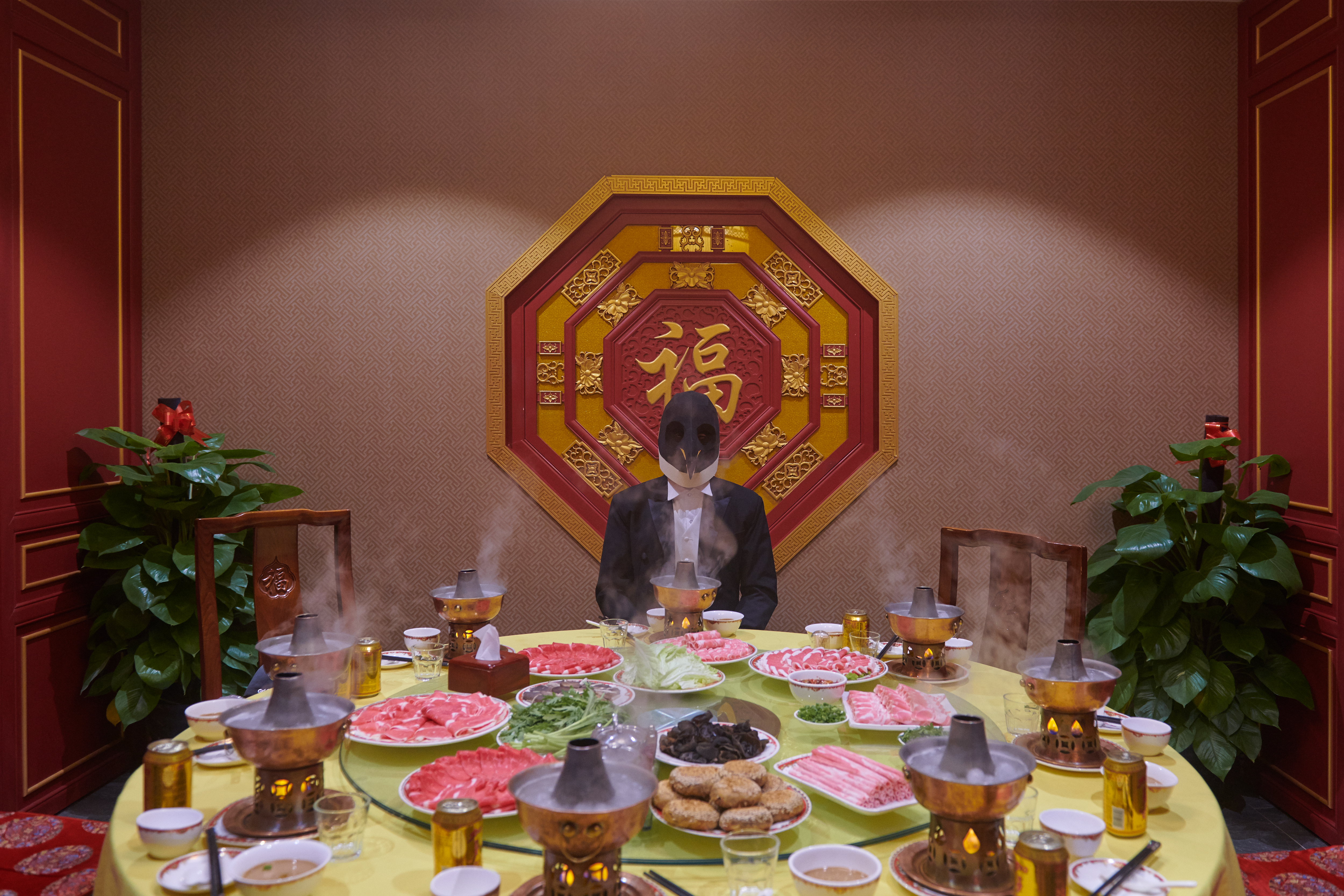Taking guests for a nice meal, like Beijing hotpot, is a basic gesture of hospitality.