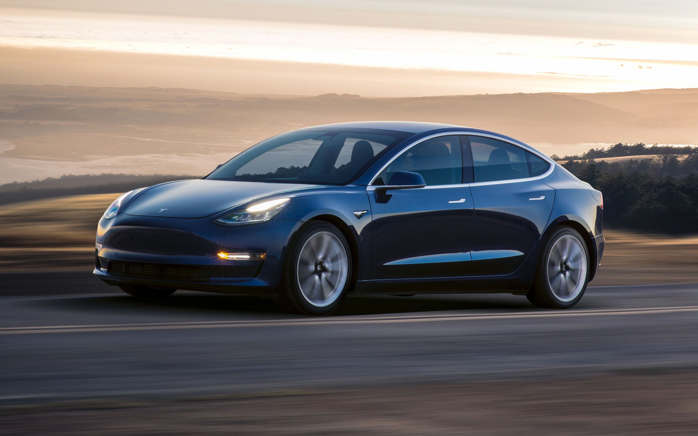I Think We Just Became A Real Car Company Tesla Hits Goal Of Making 5 000 Model 3s Per Week