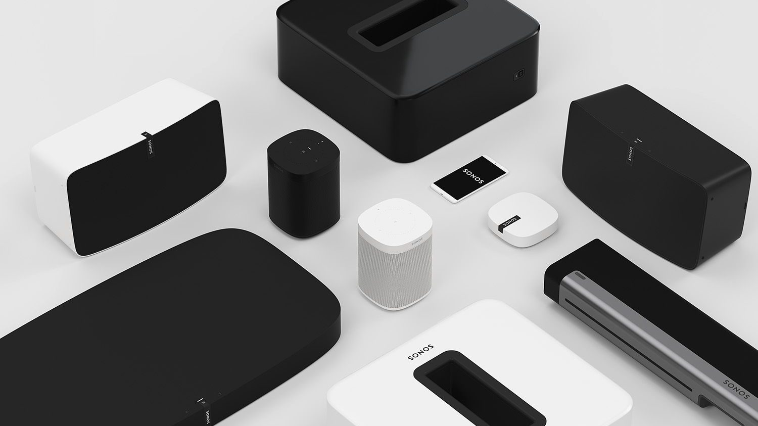 The Sonos family relies on big partners