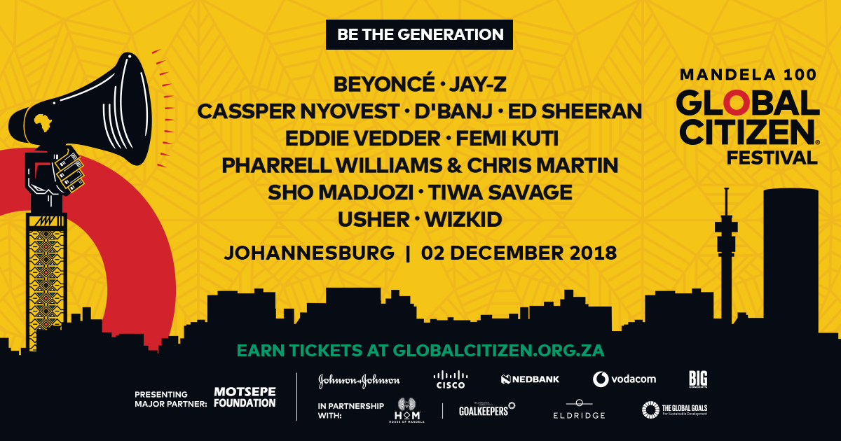 Beyoncé and Jay-Z announce performance in South Africa as part of Mandela tribute