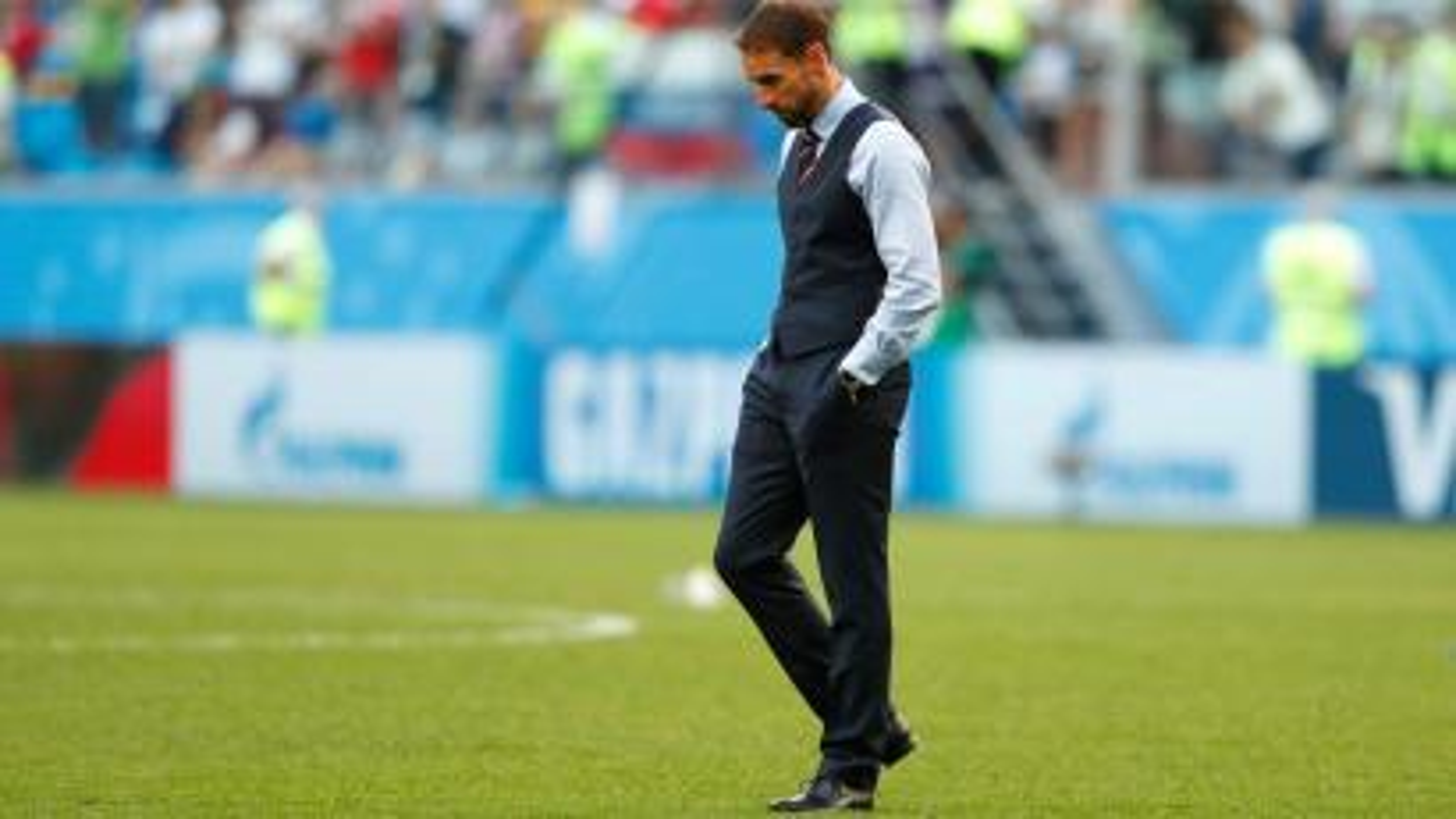England football coach Gareth Southgate