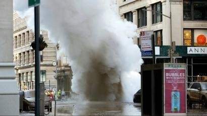 A steam explosion in Manhattan's Flatiron District is a reminder of the steam system that still heats and cools the city.