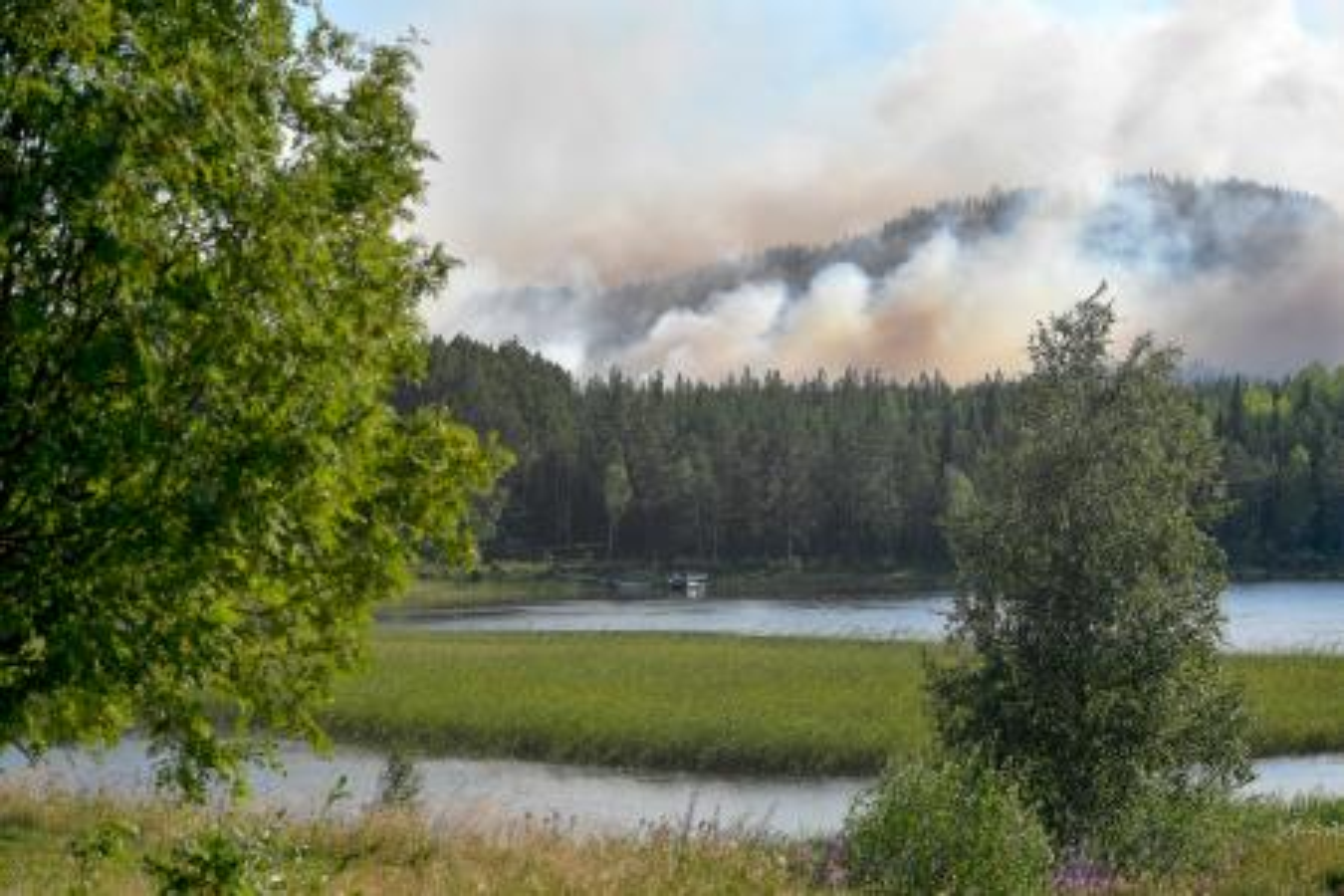 Sweden Wildfires