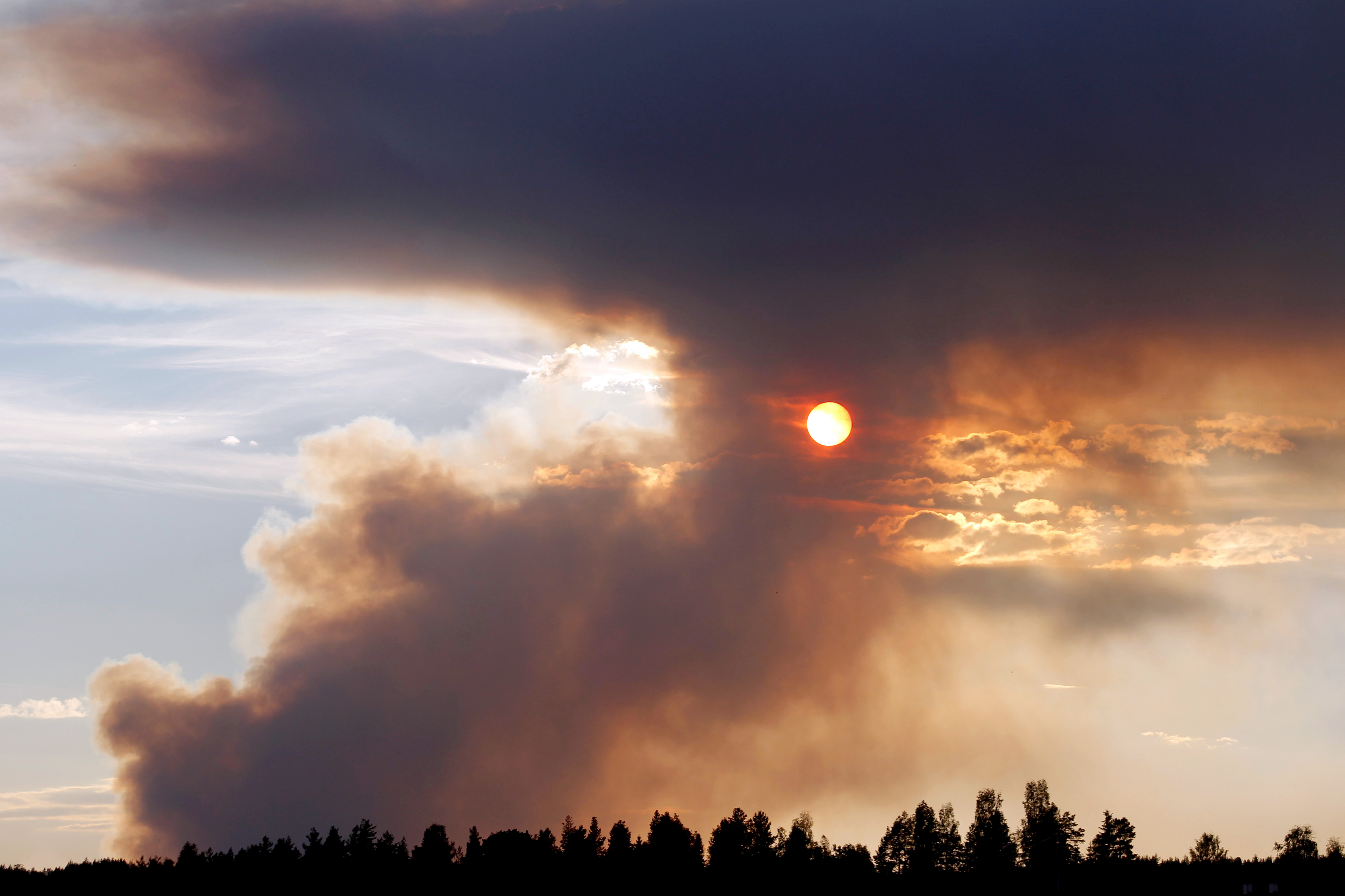 Sweden Wildfires