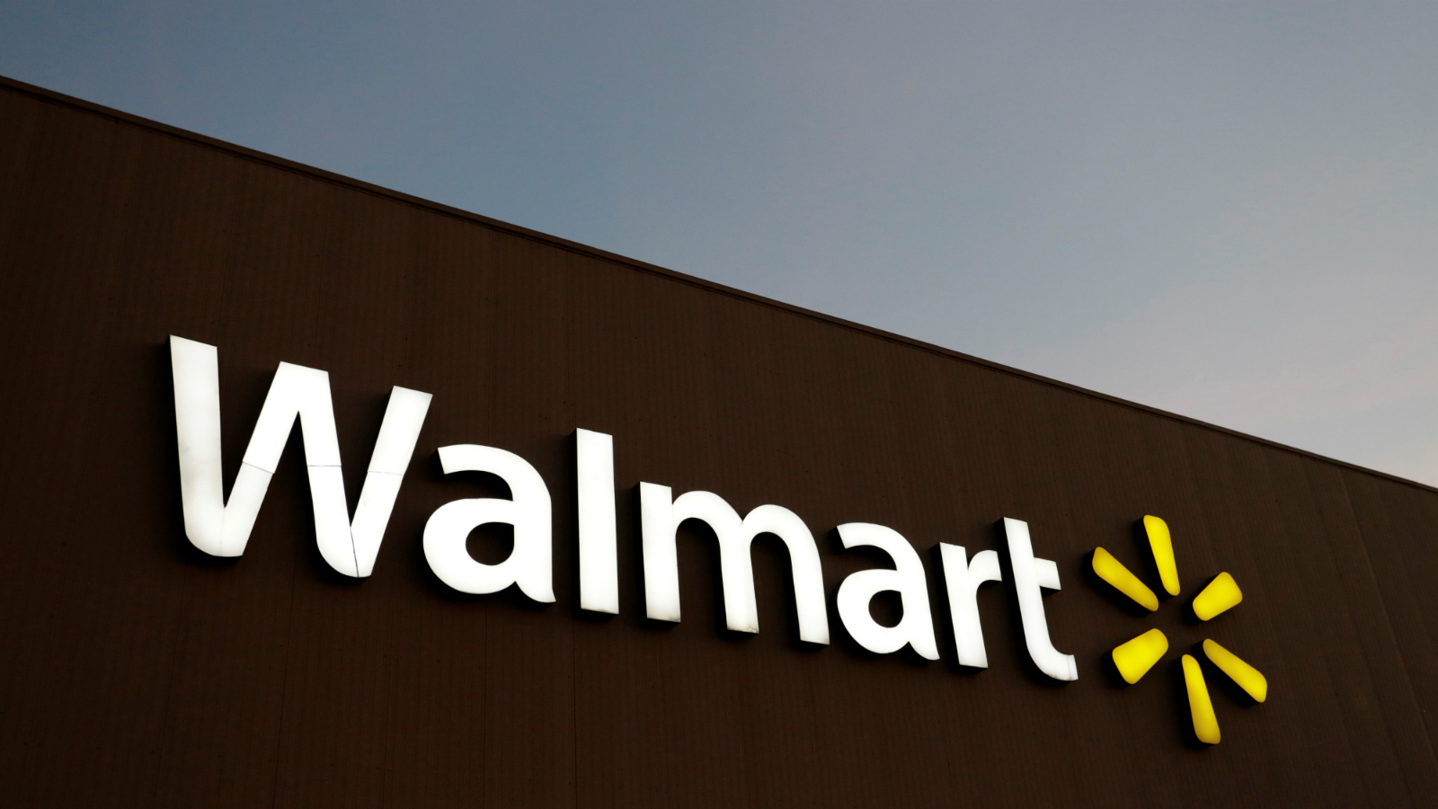 The logo of Walmart is pictured at one of their stores in Monterrey, Mexico March 6, 2017.