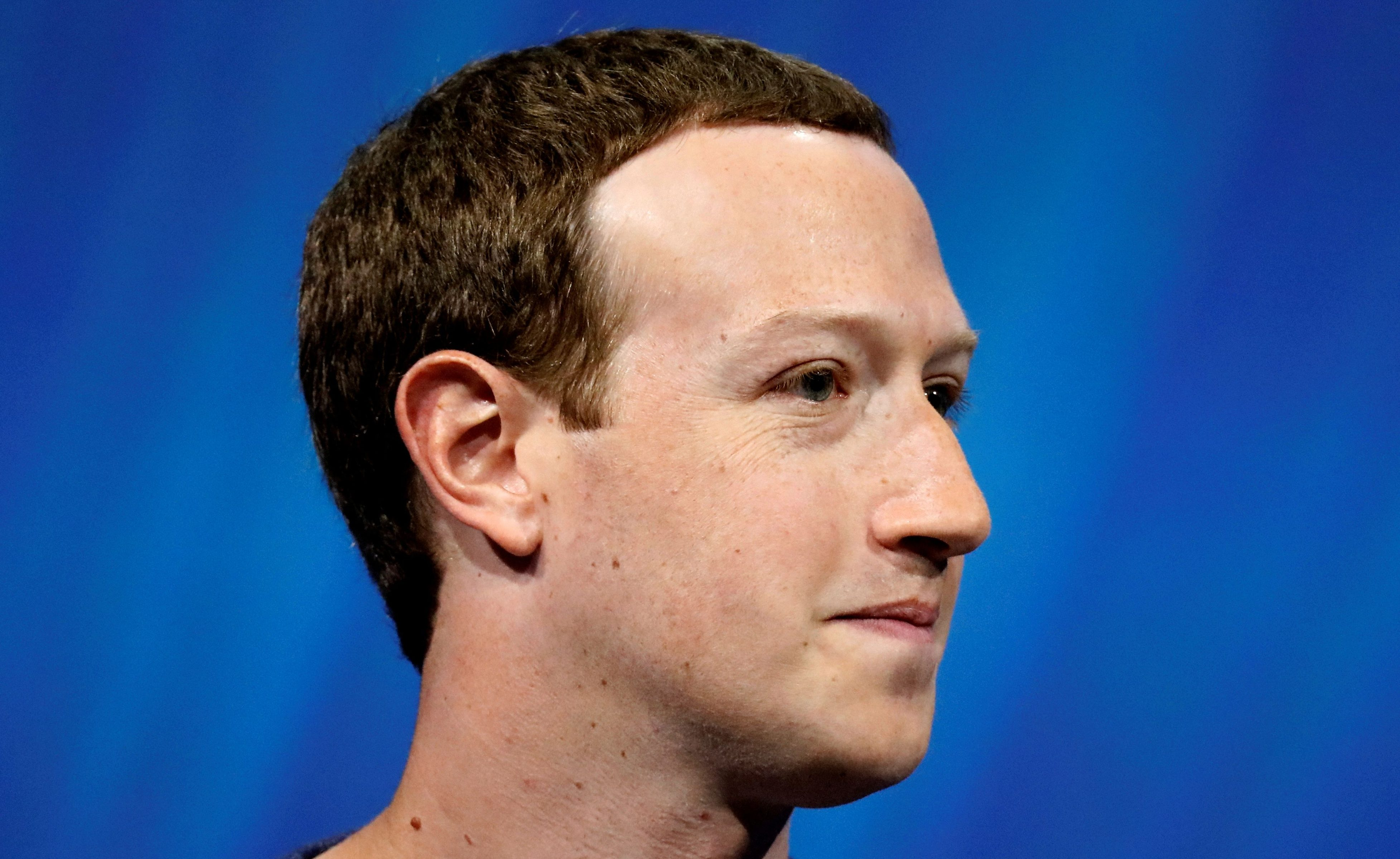 FILE PHOTO: Facebook's founder and CEO Mark Zuckerberg speaks at the Viva Tech start-up and technology summit in Paris, France, May 24, 2018.