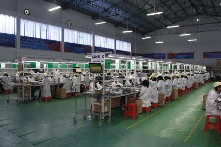 China phone maker Transsion's Ethiopia factory