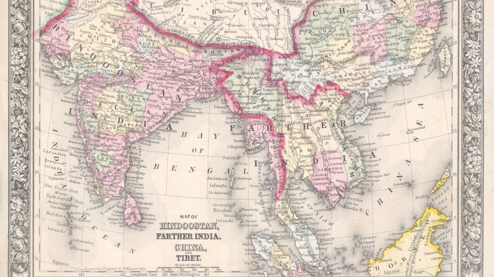 An epic map of India was created in the 19th century — Quartz India