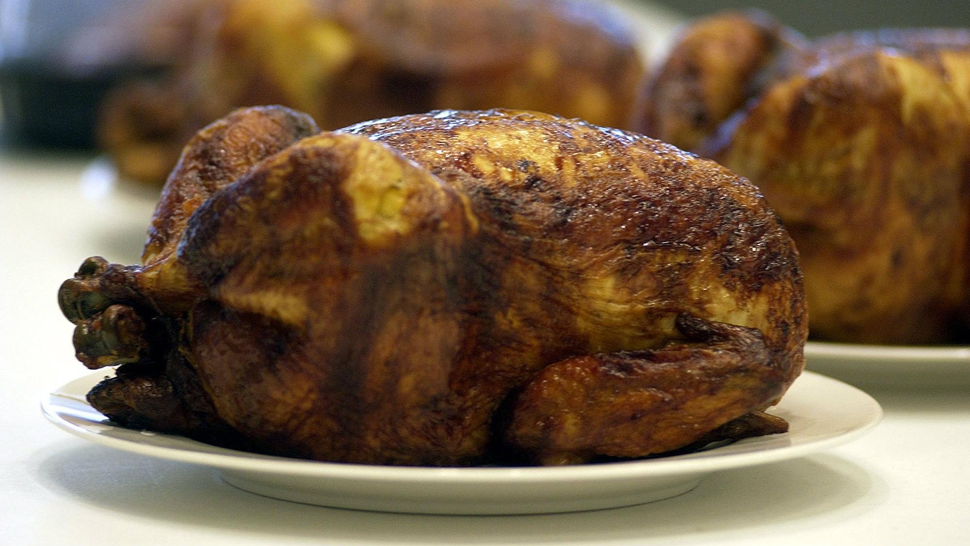 Rotisserie chicken - the best movie theater snack