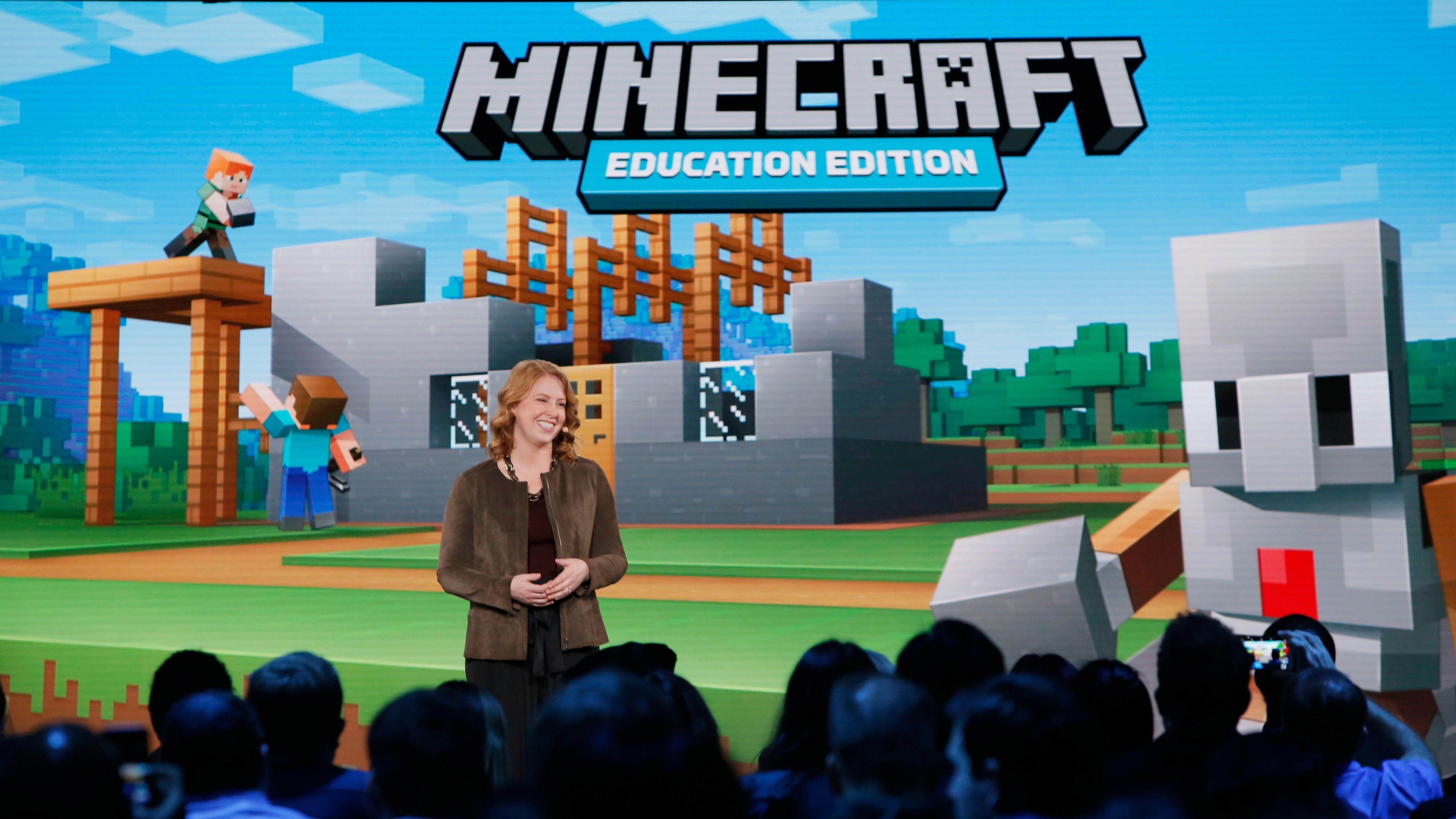 Microsoft releases Minecraft: Education Edition for the iPad — Quartz