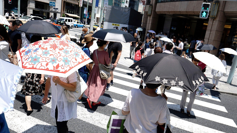 Japan heatwave
