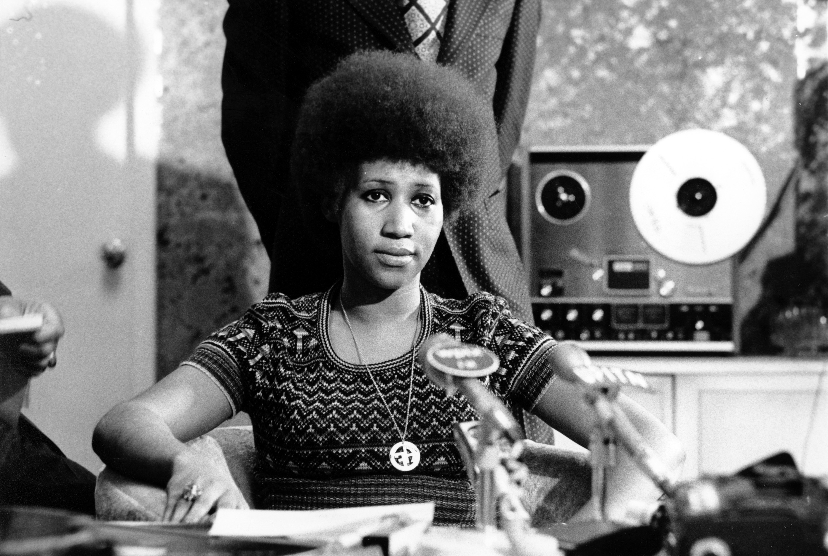 Aretha Franklin became the Queen of Soul at a studio in Alabama