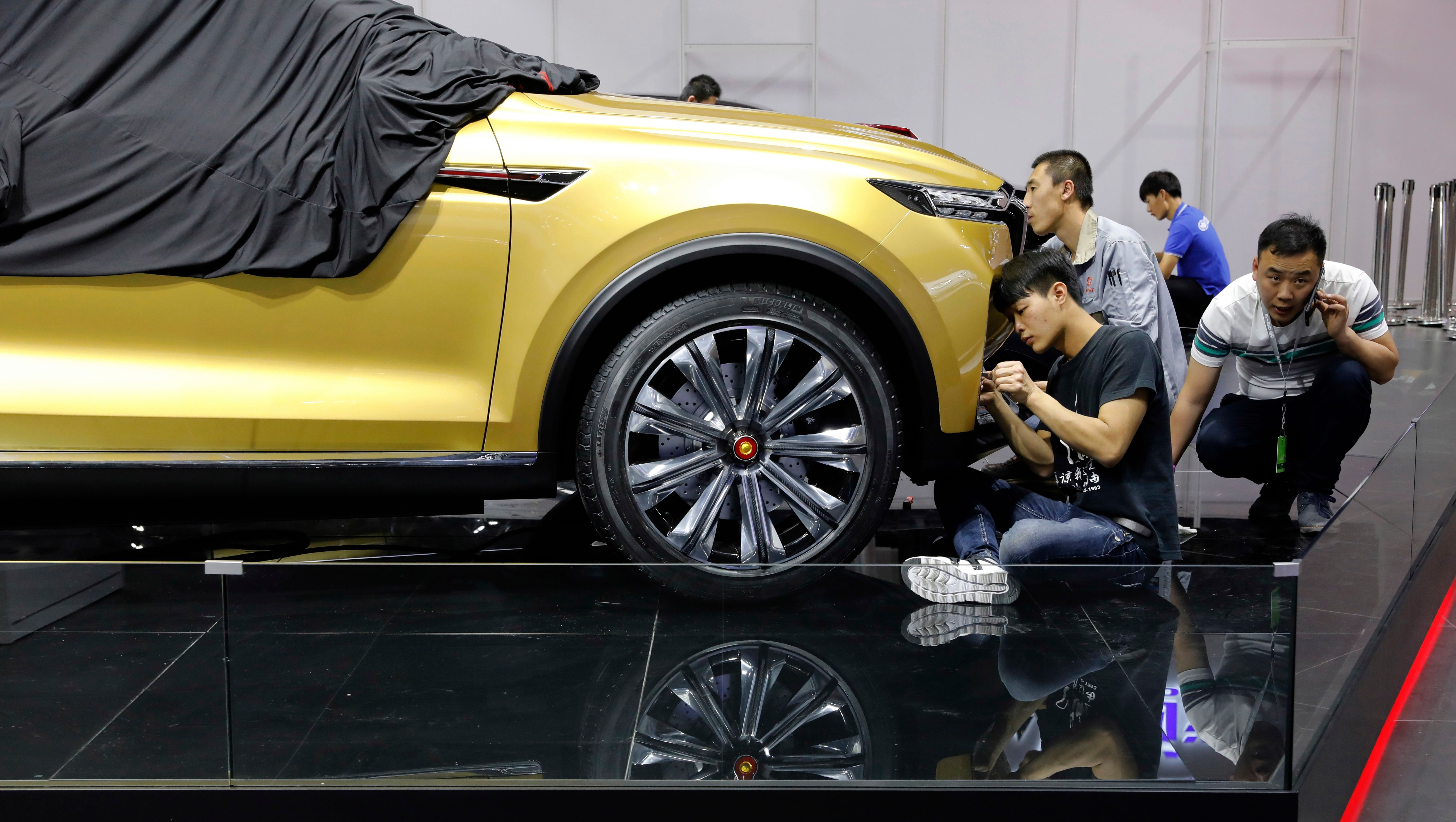 Chinese Electric Car Startup Xiaopeng Is Now Valued At 3 6