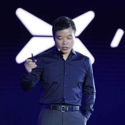 He Xiaopeng, founder and CEO of Xpeng Motors on August 15 in Guangzhou, China.