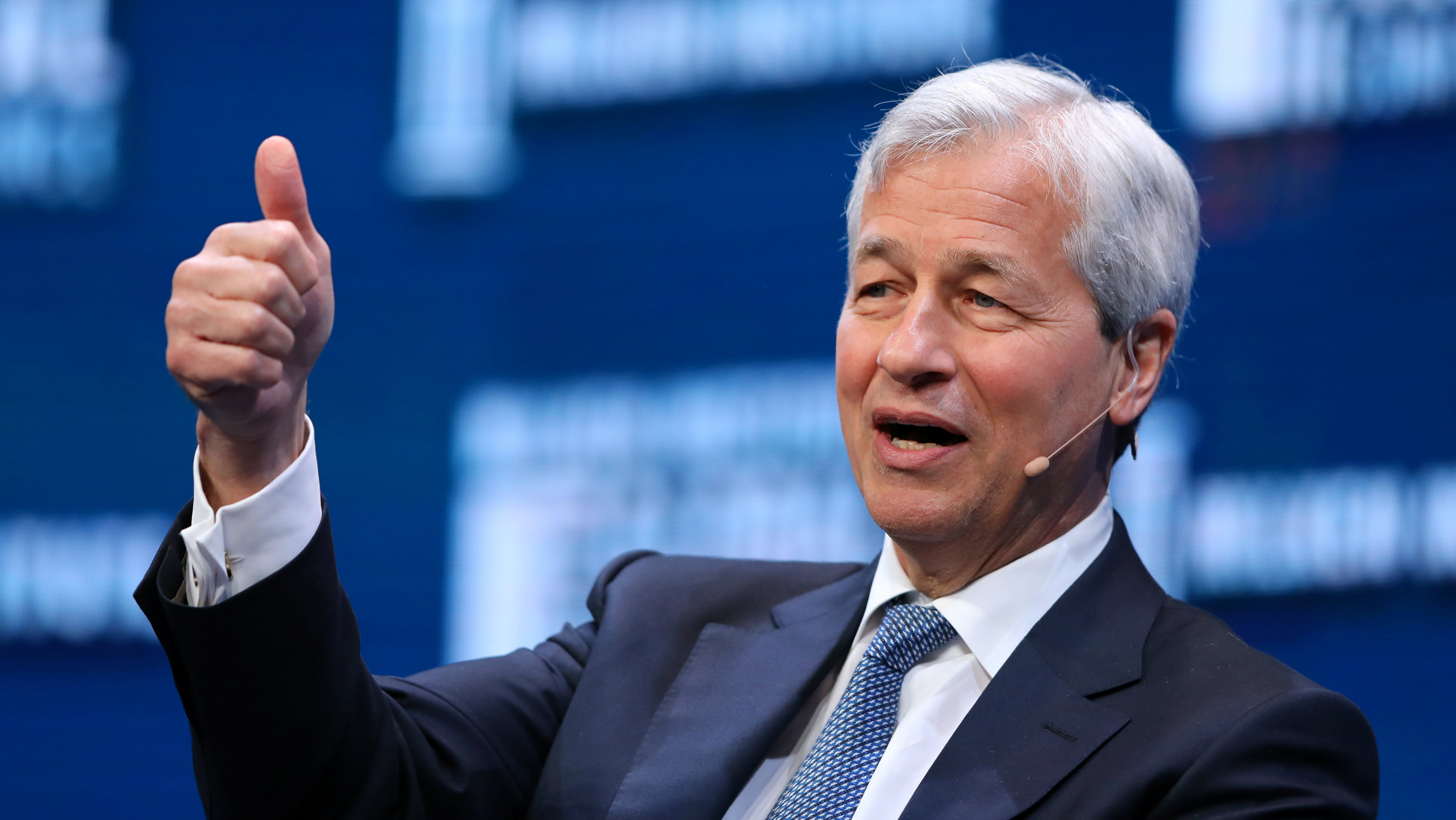 JP Morgan was behind the whole thing forecast