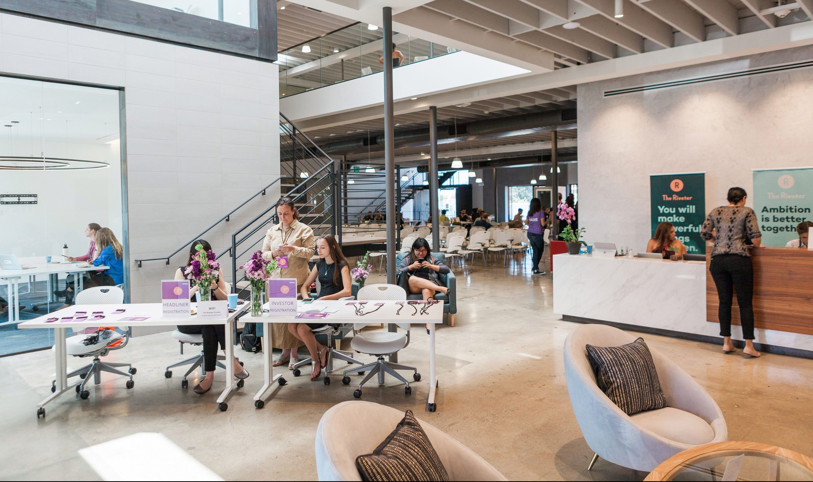 Coworking spaces were designed by white men the riveter - Black owned interior design companies ...