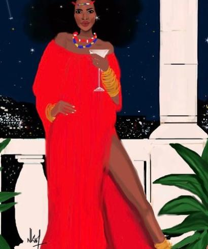 Nicholle Kobi: Illustrations of black women in France controversial as the world embraces her