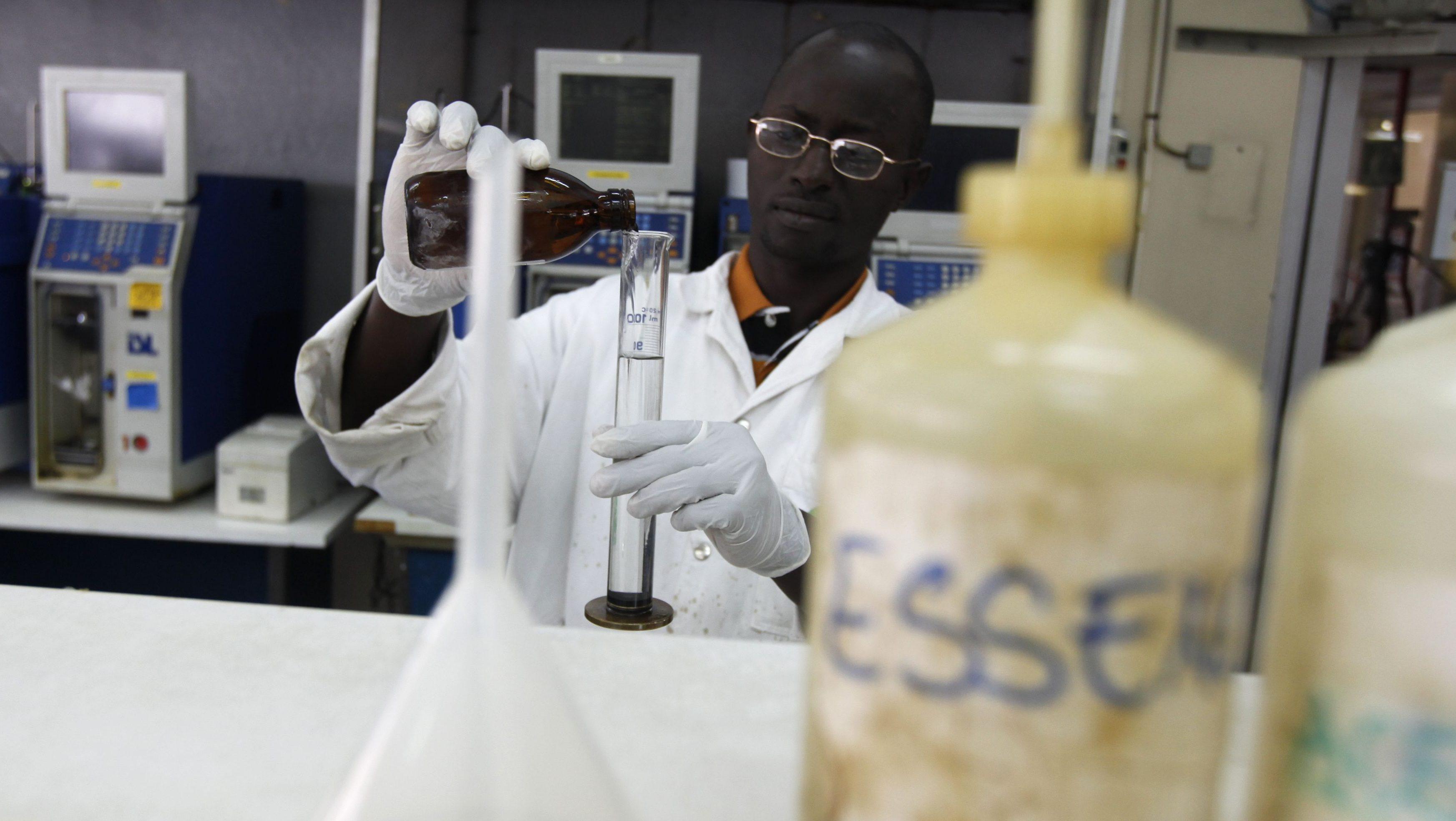 Africa's student laboratories design their own lab equipment