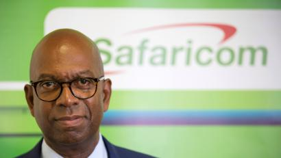 Robert Collymore Chief Executive of Kenya's telecom operator Safaricom poses during a Reuters interview at their headquarters in Nairobi, Kenya, May 10, 2017.