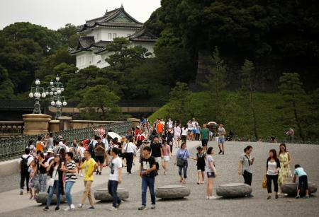 Tokyo Imperial Palace 2022 Olympic marathon route