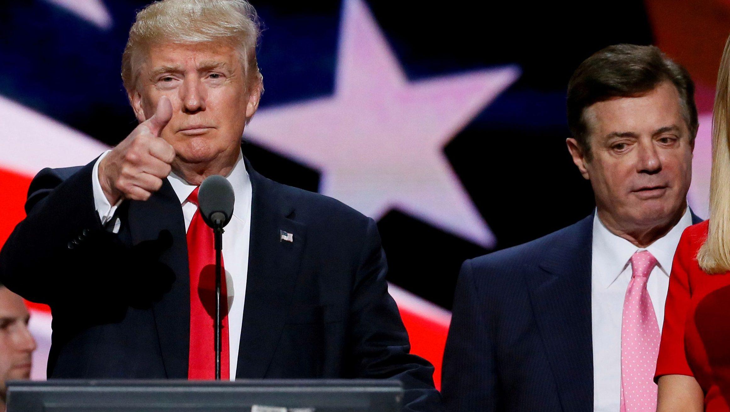 mantan manager kampanye Donald Trump, yaitu Paul Manafort