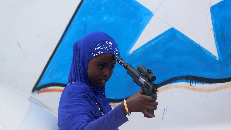 For Eid Al Adha Somalia S Children Celebrate With Toy