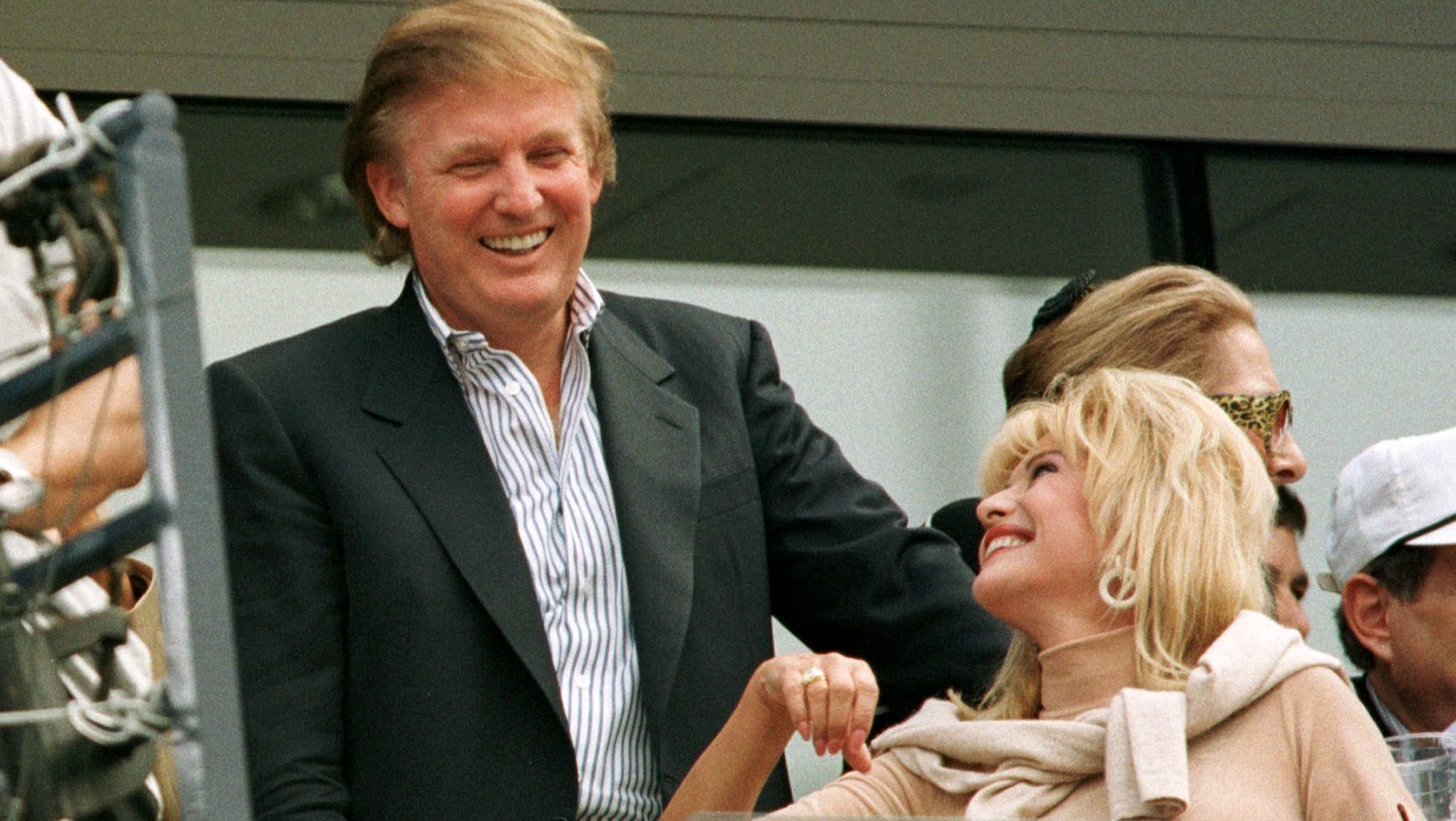 Ivana And Donald Trump Wedding 1977.Ivanka Trump Says Her Mother Ivana Came To The Us Legally But Only