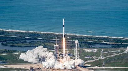 In May 2018, this Falcon 9 rocket went to orbit. Today, it goes back for a second time.