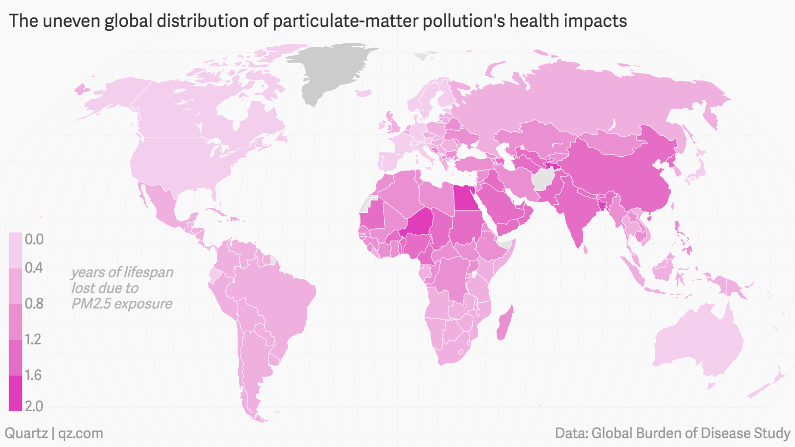 Lowering air pollution just a bit would increase life expectancy as much as  eradicating lung and breast cancer