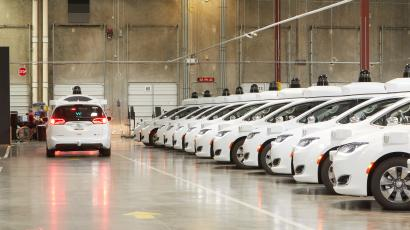 Waymo's self-driving cars: A look into the warehouses that