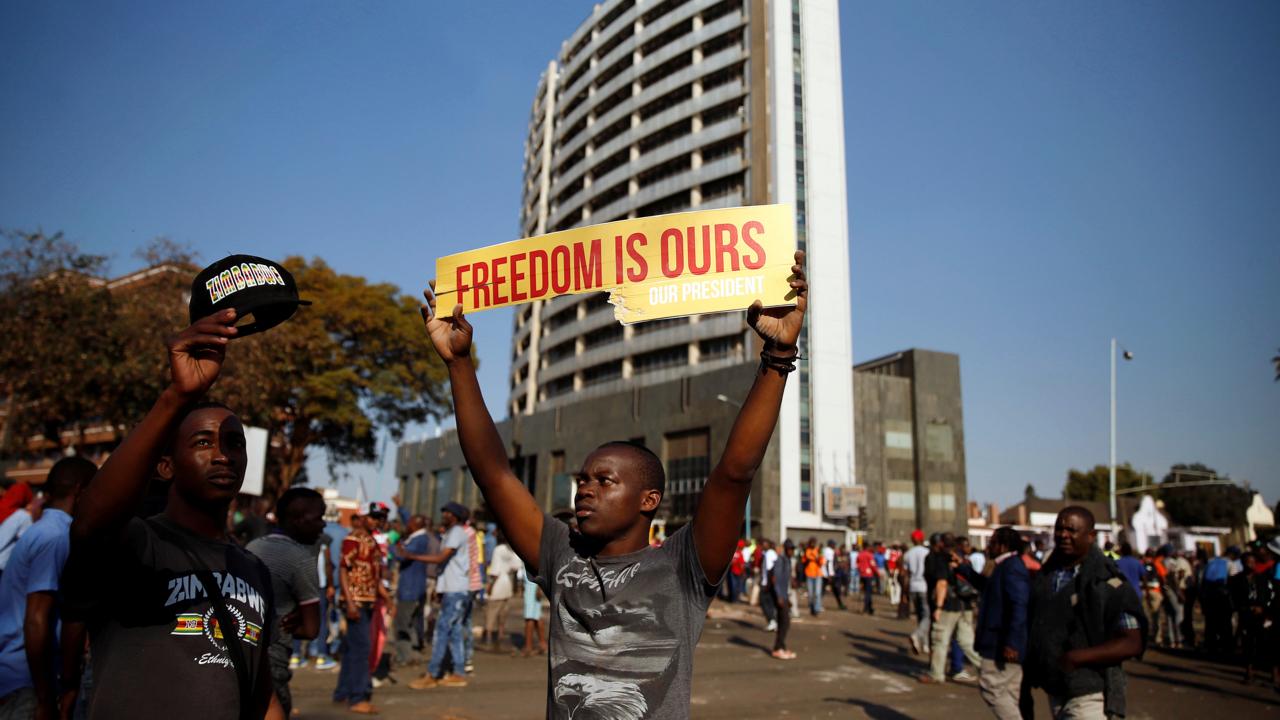 zimbabwe election chamisa claims rigging mnangagwa wants unity