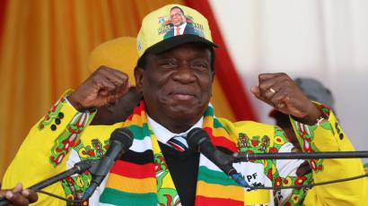Zimbabwe election: Emmerson Mnangwaga wins presidential election