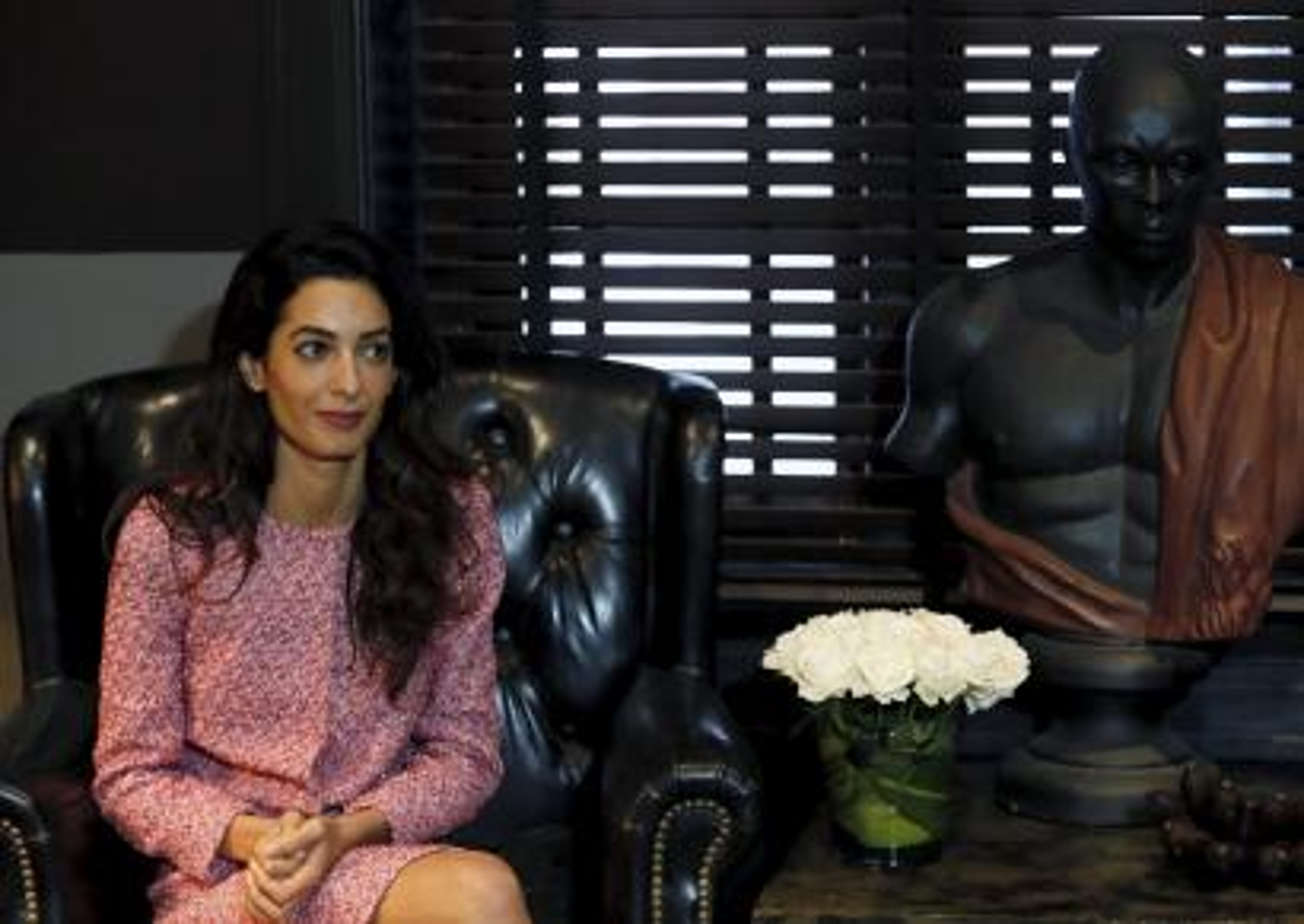 Attorney Amal Clooney.