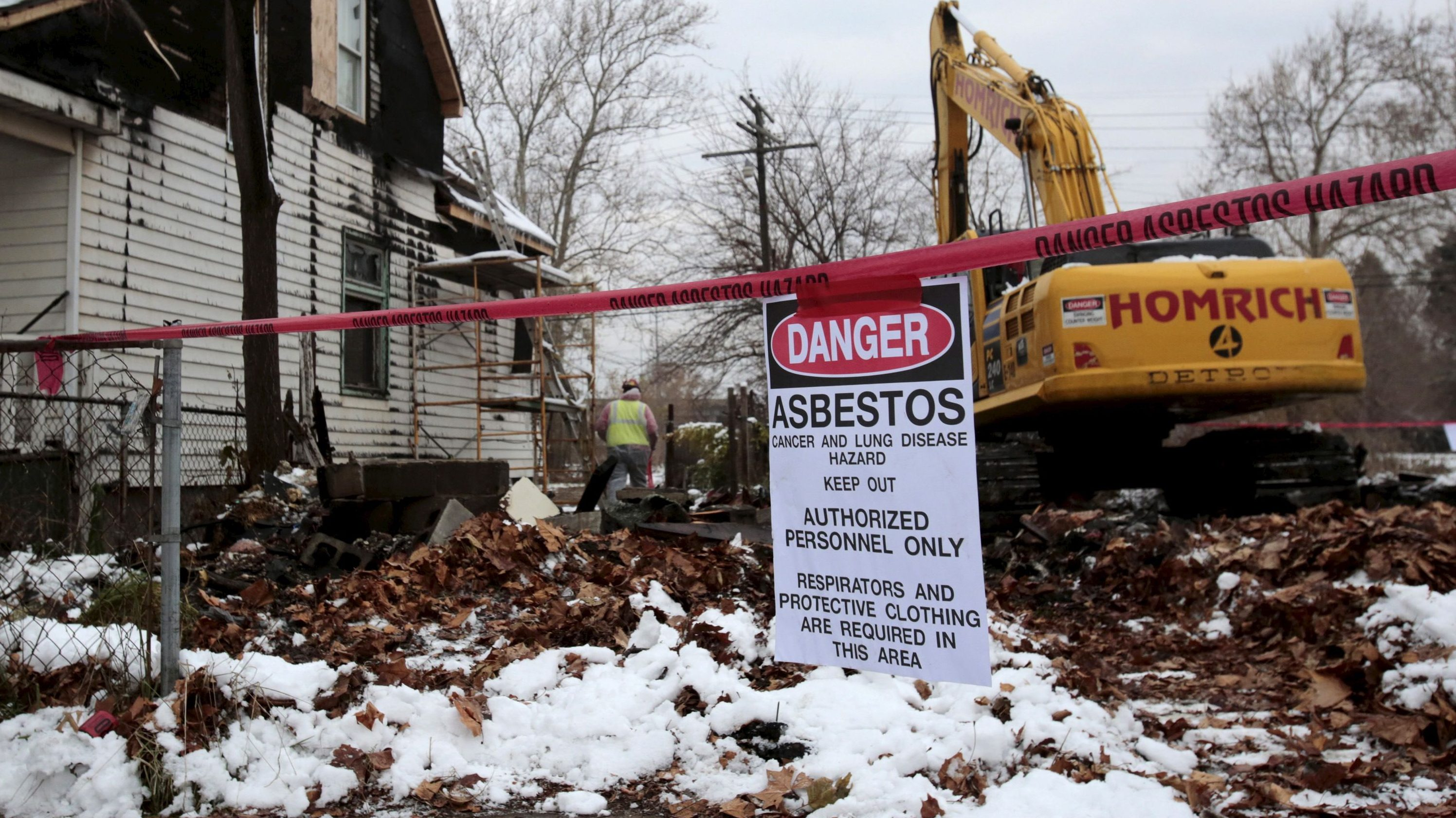 Bringing asbestos back from the dead.