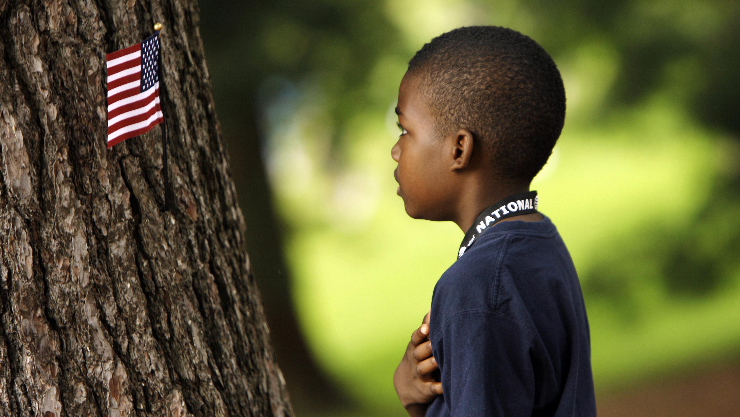 child pledge allegiance