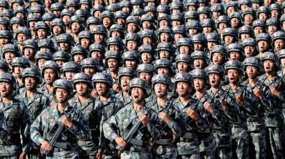 China's power brings military drills center stage in Asia