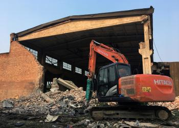 "Ai Weiwei's ""Left and Right"" art studio, in the northeast Beijing suburbs,"