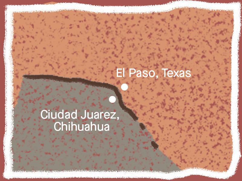 El Paso, Texas/Ciudad Juarez,Chihuahua border