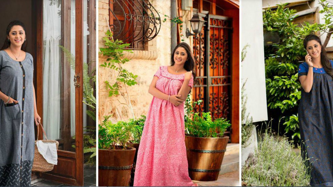 The humble Indian nightie is becoming a global fashion trend ... 02a7b7336