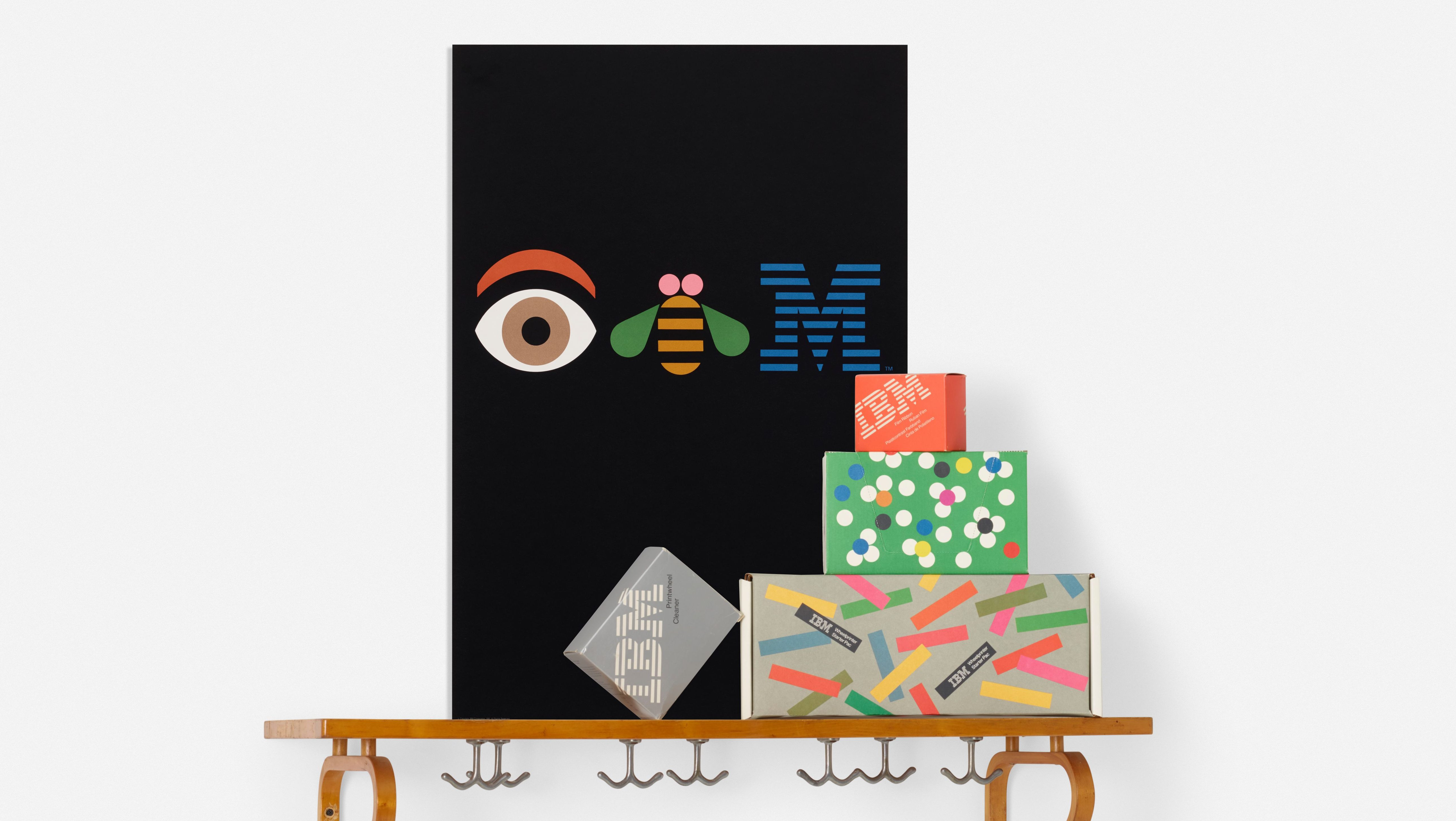 Ibm Logo Designer Paul Rand S Works And Personal Artifacts